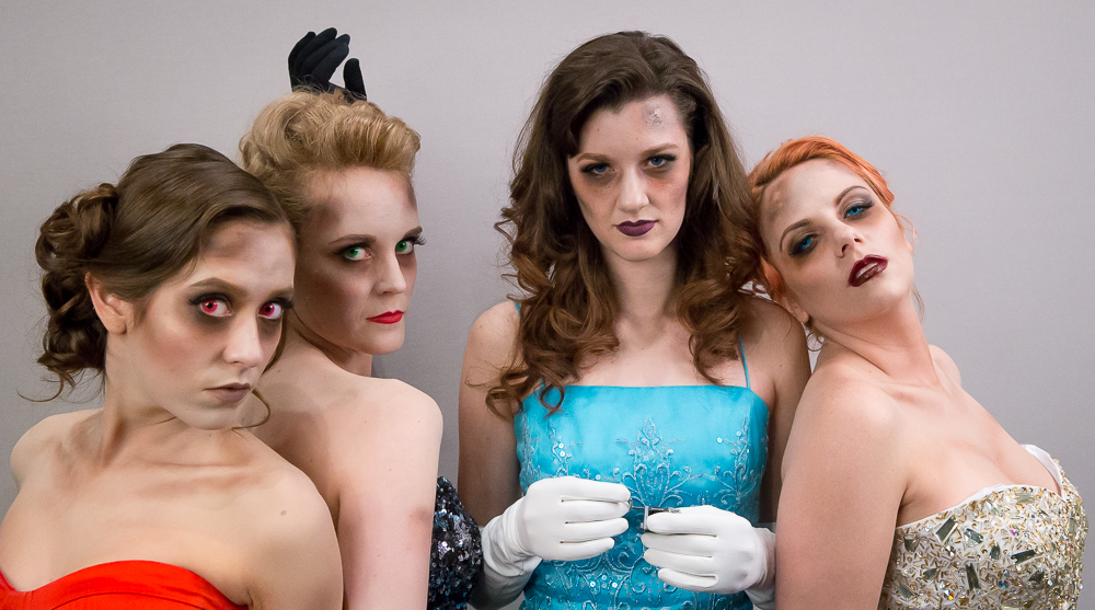 Ashley Z (Sara Carolynn Kennedy), Heather Z (Sheri Rippel), Morgan Z (Mary Caitland Williams), Jane492 Z (Ashley Nadeau)